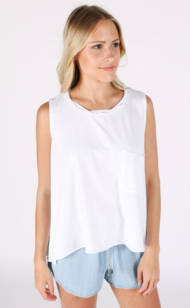 feeling free pocket tank - ivory