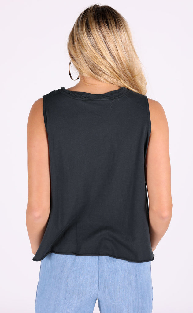 feeling free pocket tank - charcoal