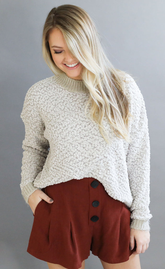 feeling fresh knit sweater