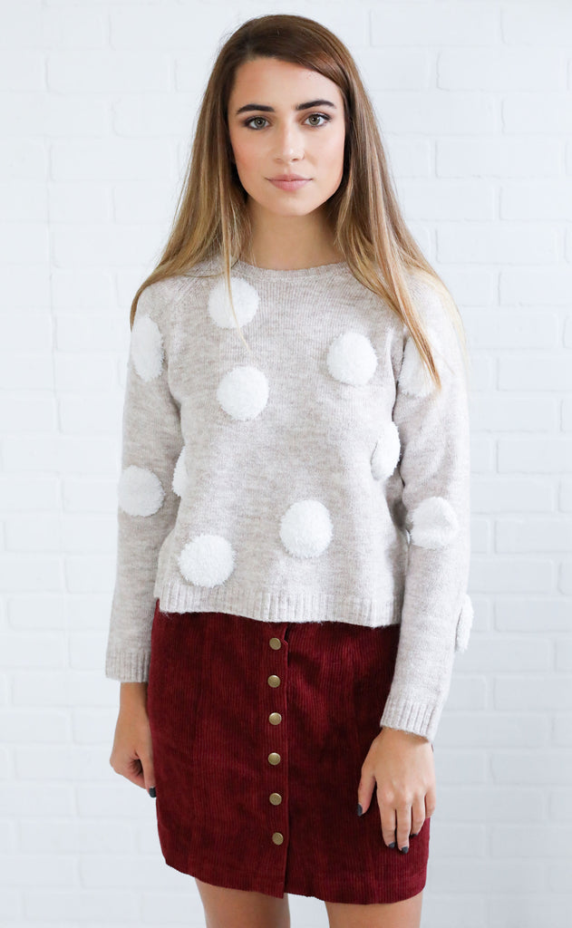 feeling fuzzed crop sweater
