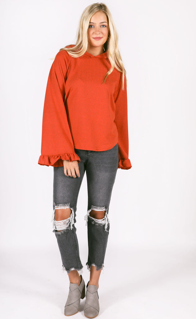 fall feels bell sleeve top
