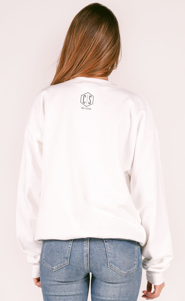 charlie southern: fight song sweatshirt