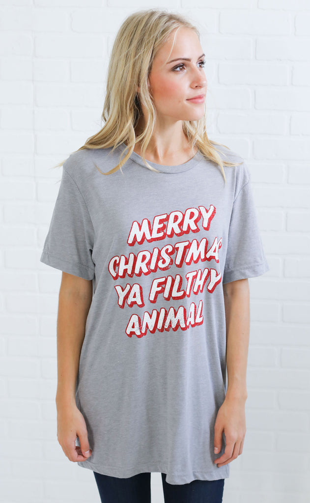 charlie southern: filthy animal t shirt