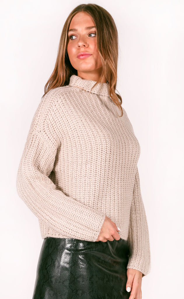 fireside feels knit sweater