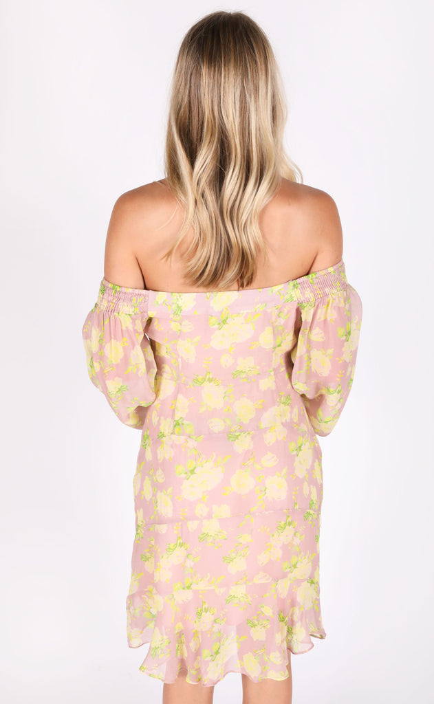 fletch: farrah cutout babydoll dress