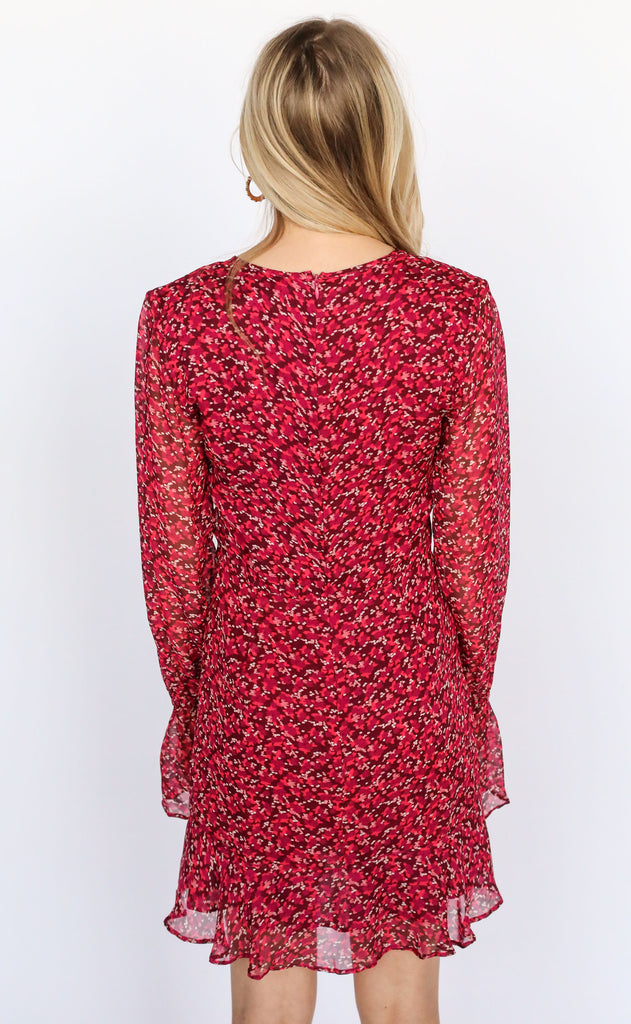 fletch: highland floral dress