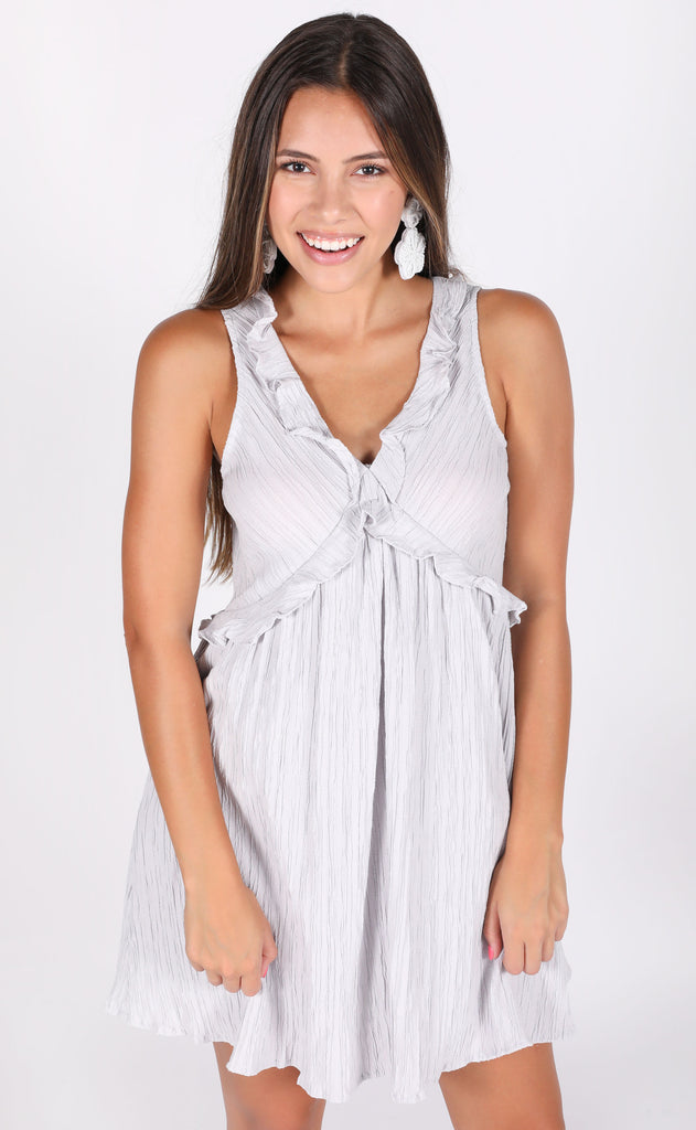 float on ruffle dress