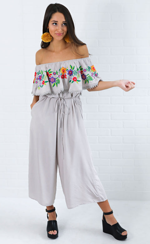 floral fiesta embroidered jumpsuit