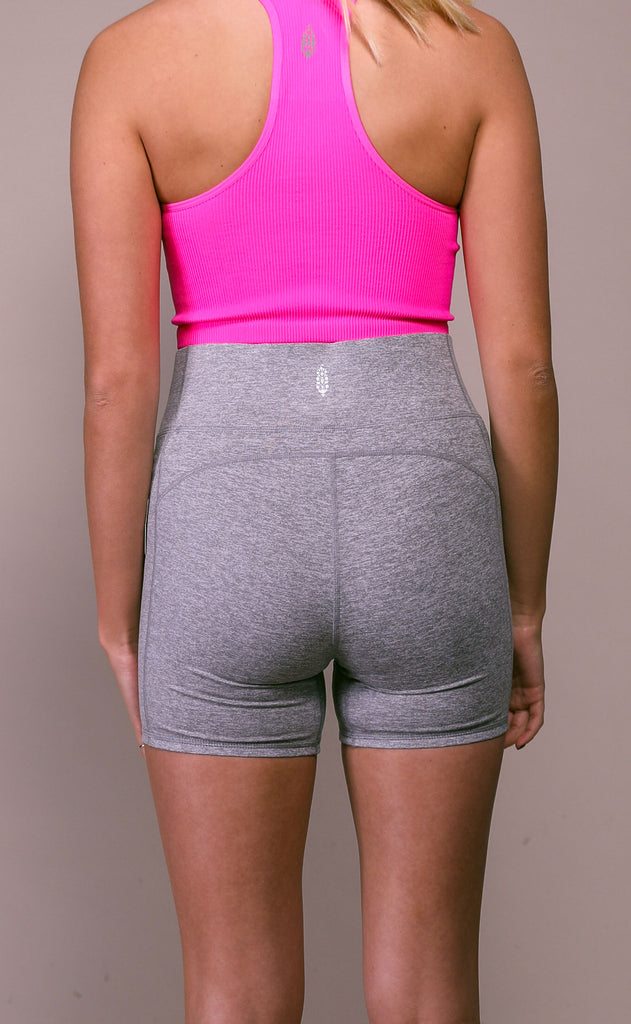 free people movement: hang time short - grey