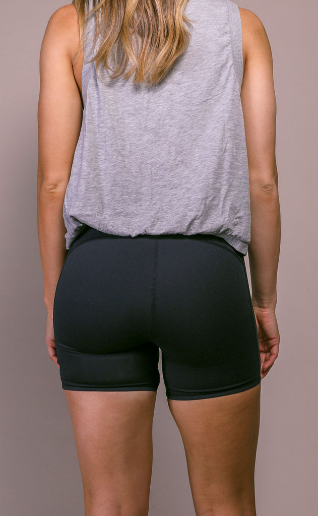 free people movement: hang time short - black