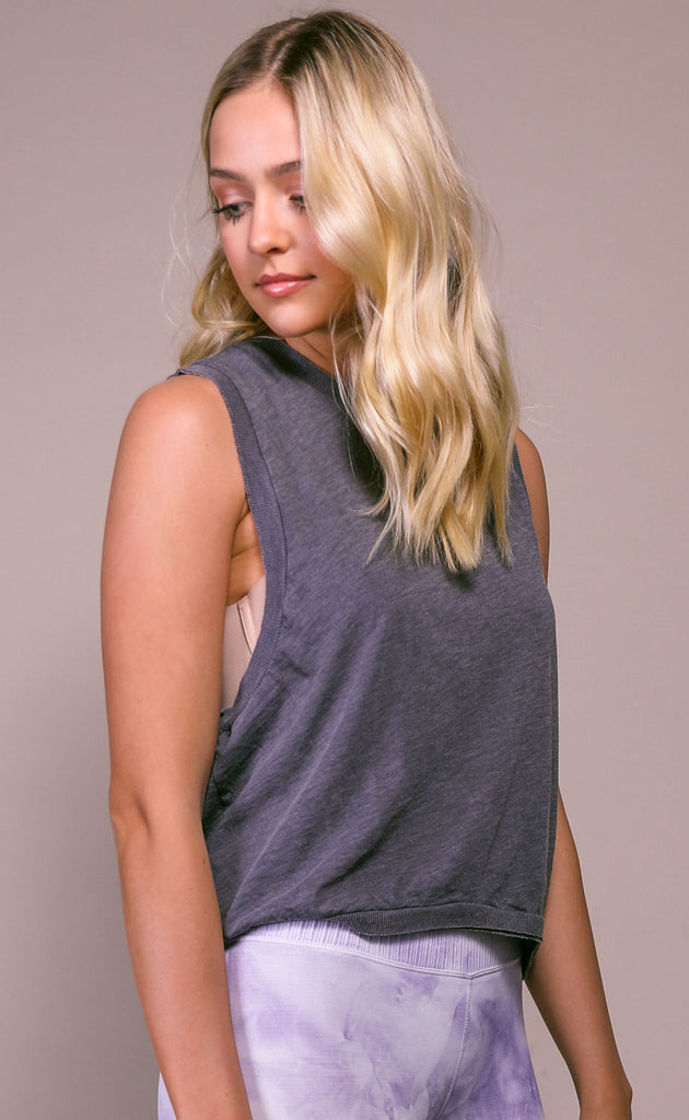 free people movement: love tank - black