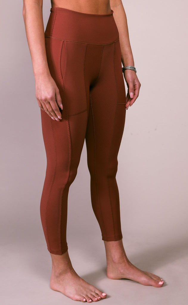 free people movement: ruffle me up legging - crimson