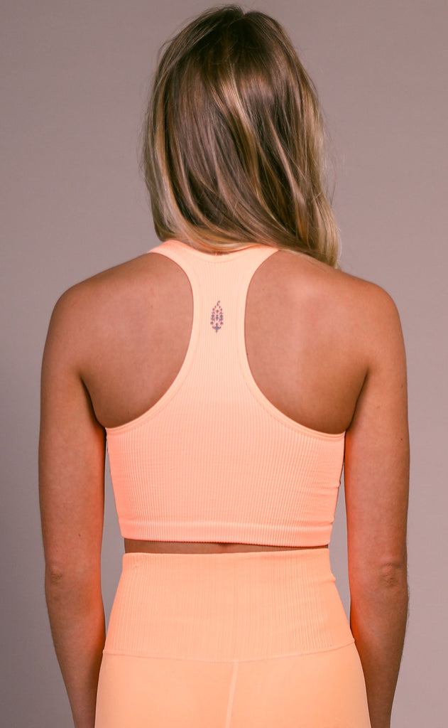 free people movement: free throw crop - peach