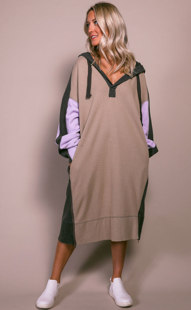 free people movement: spur of the moment sweatshirt dress