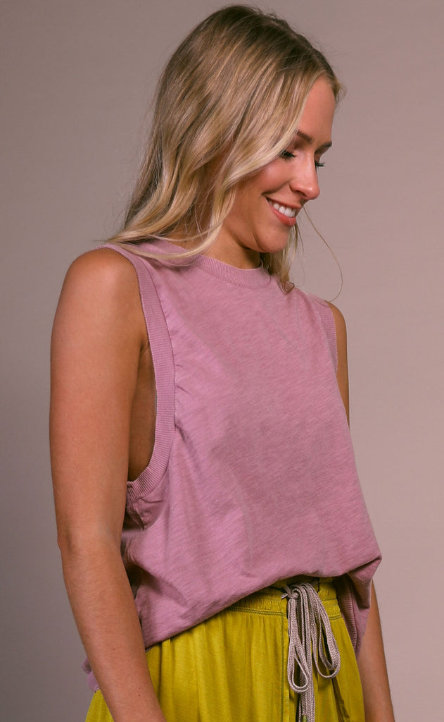 free people movement: love tank - dark pink