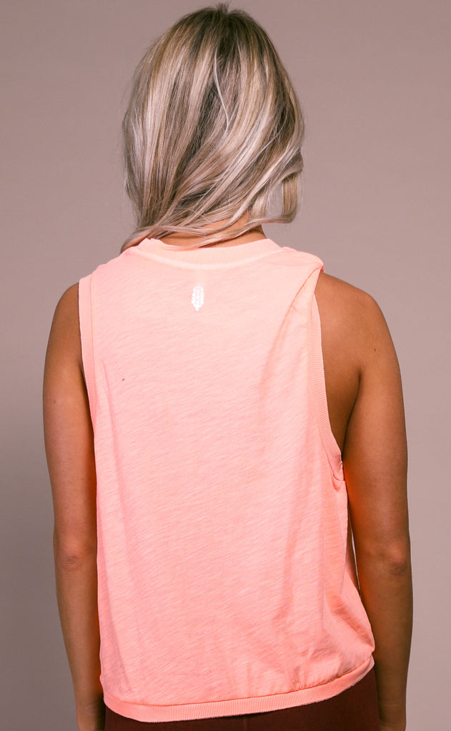 free people movement: love tank - peach