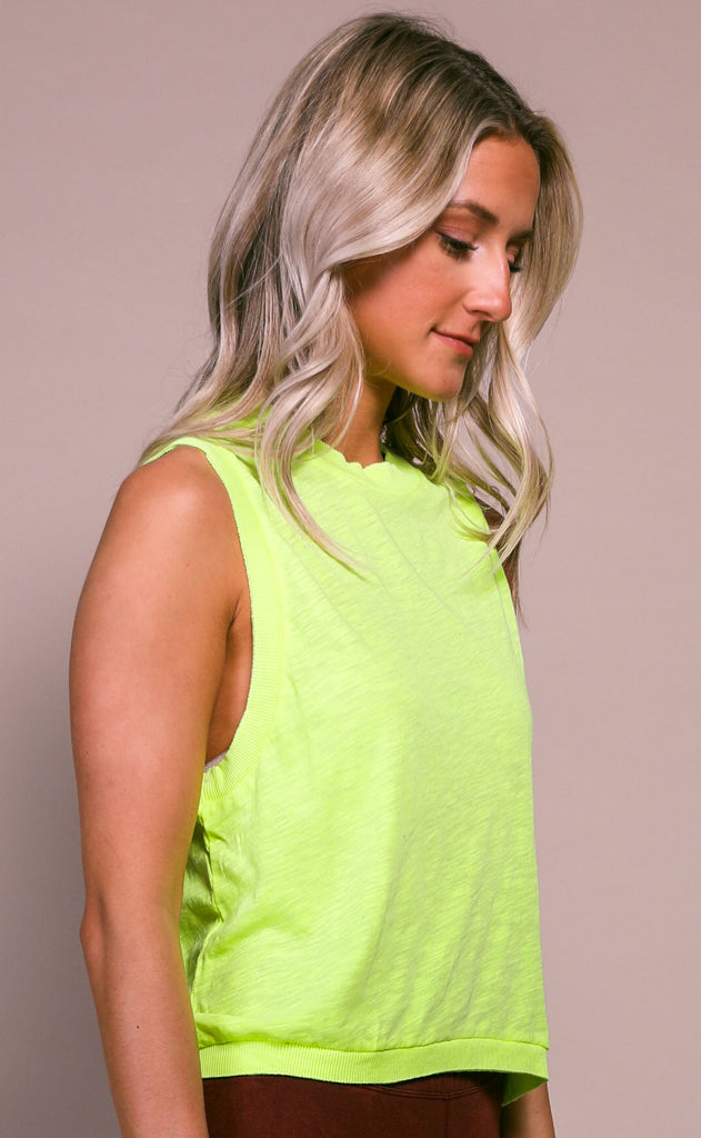 free people movement: love tank - yellow