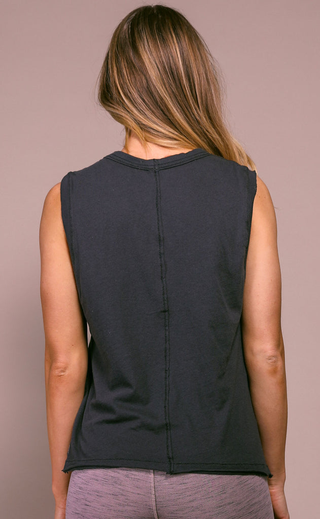 free people movement: swoop tank - dark slate