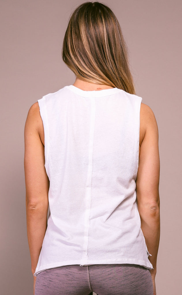 free people movement: swoop tank - white