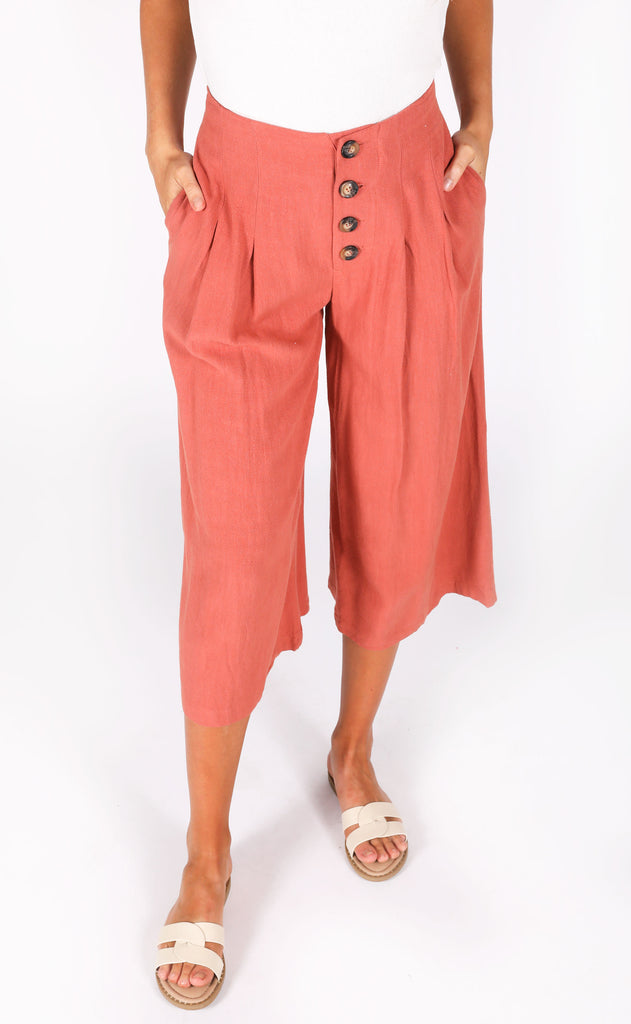 free fallin' button up pants