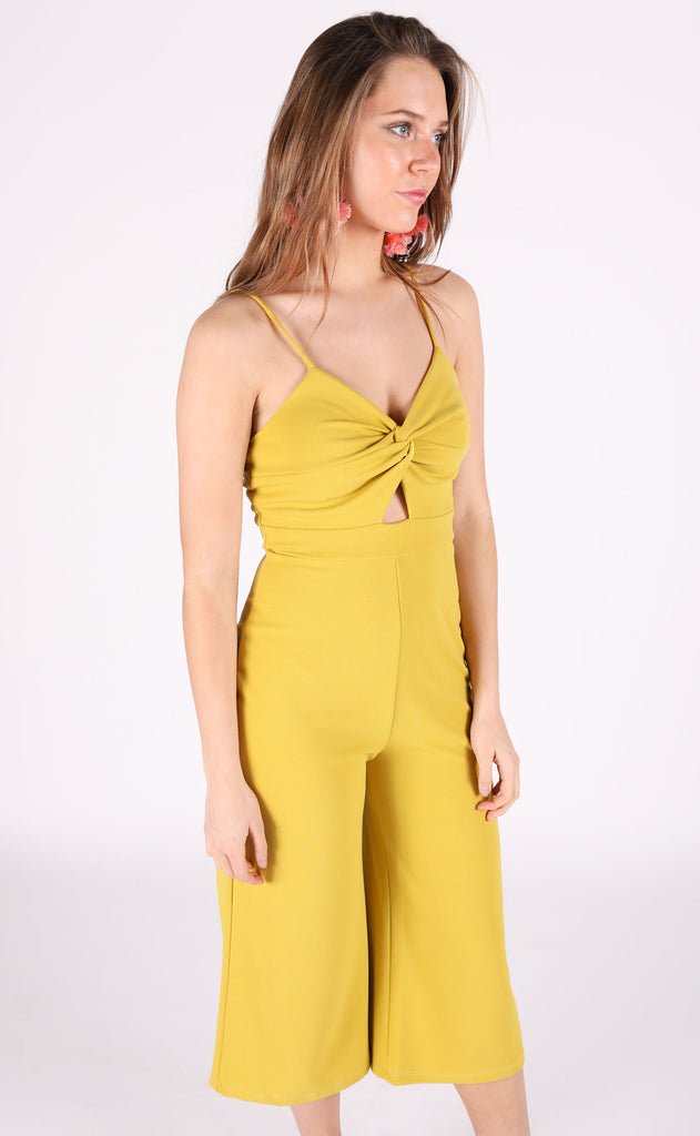 freshly squeezed twisted jumpsuit
