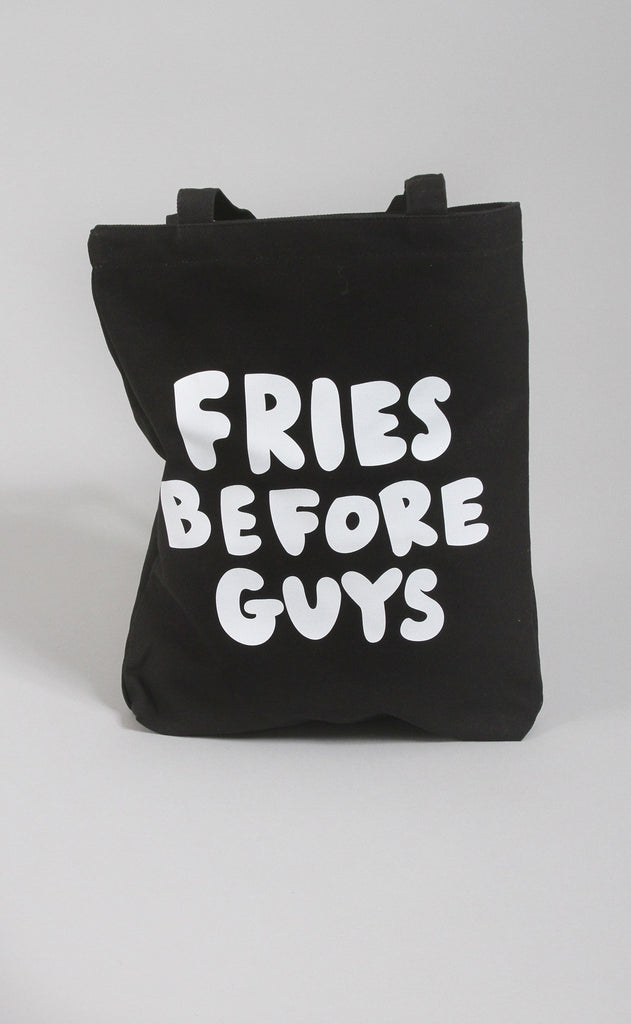 ban.do canvas tote - fries before guys tote