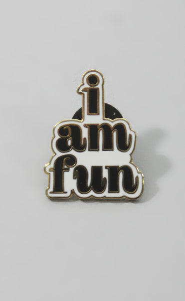 ban.do: enamel pin - i am fun