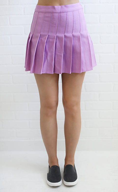 game day skirt - purple