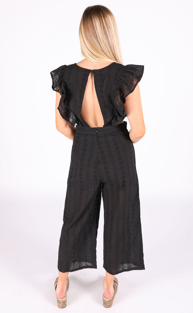 garden party eyelet jumpsuit