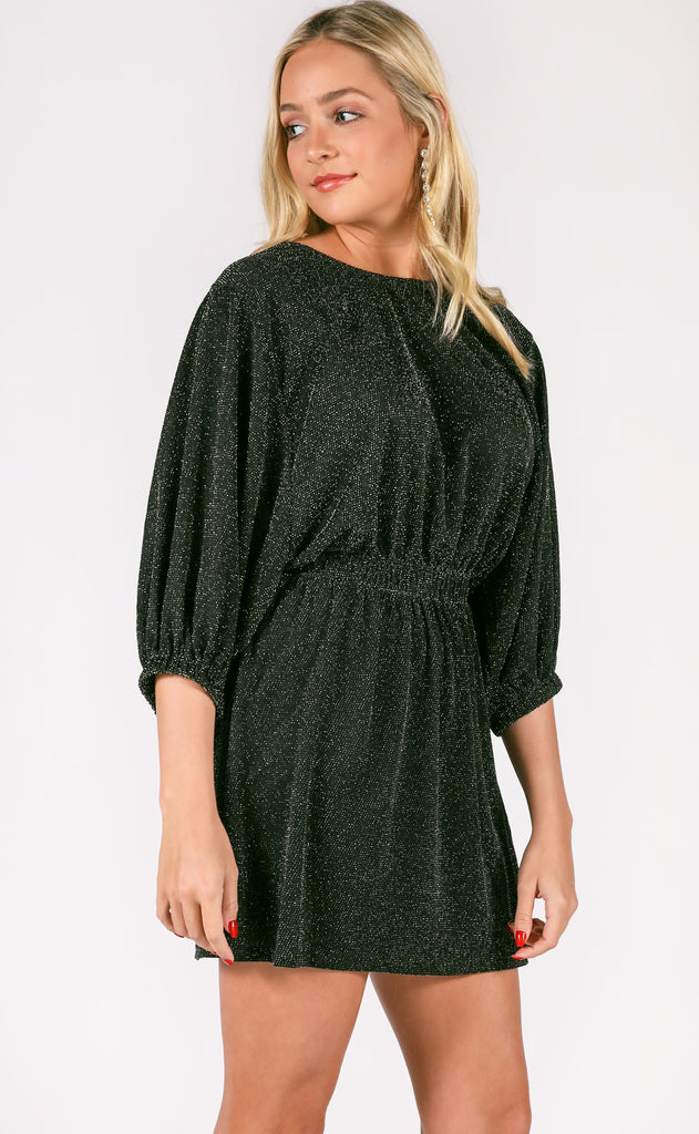 show me your mumu: genevieve dress - dancing queen shine black