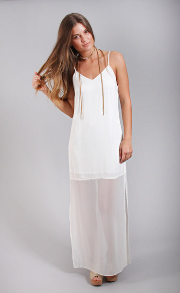 gentle fawn: fleur dress - ivory