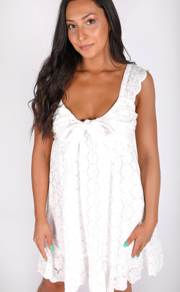 getaway eyelet dress