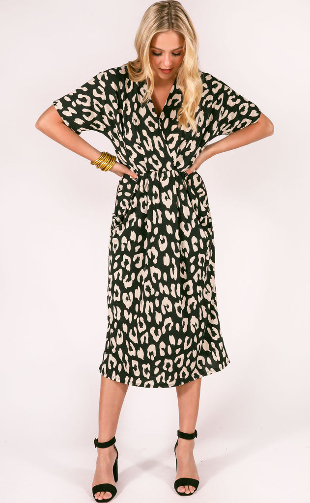 go wild leopard dress