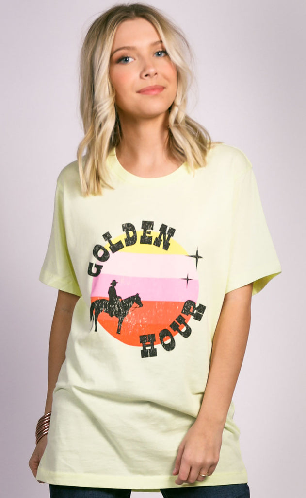 charlie southern: golden hour t shirt