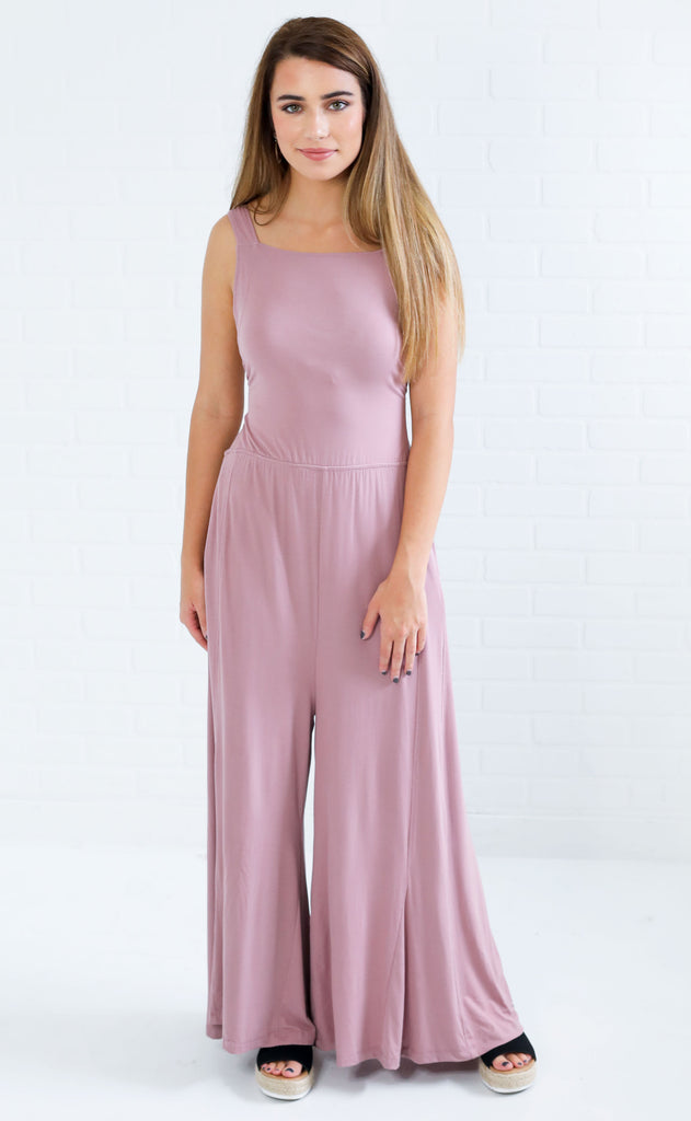 good company open back jumpsuit
