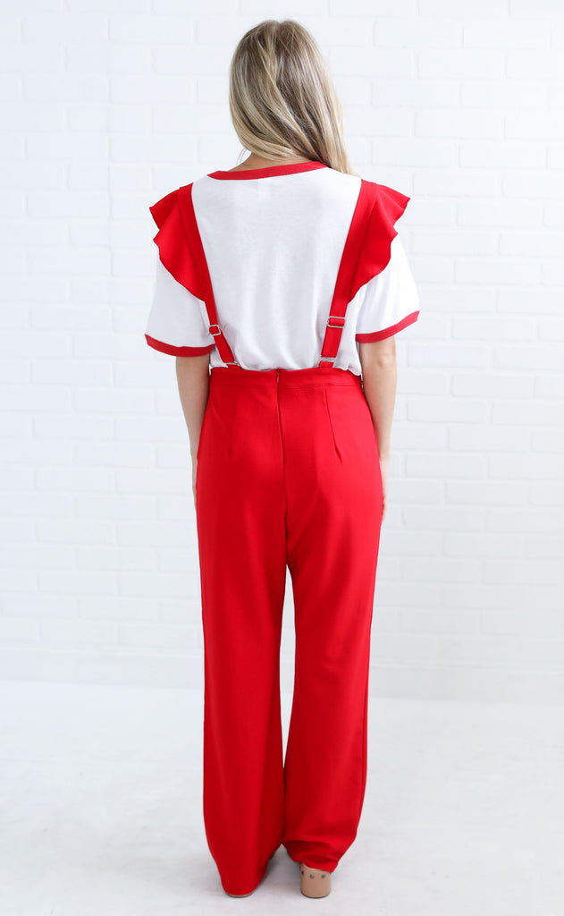 good feelings overall jumpsuit