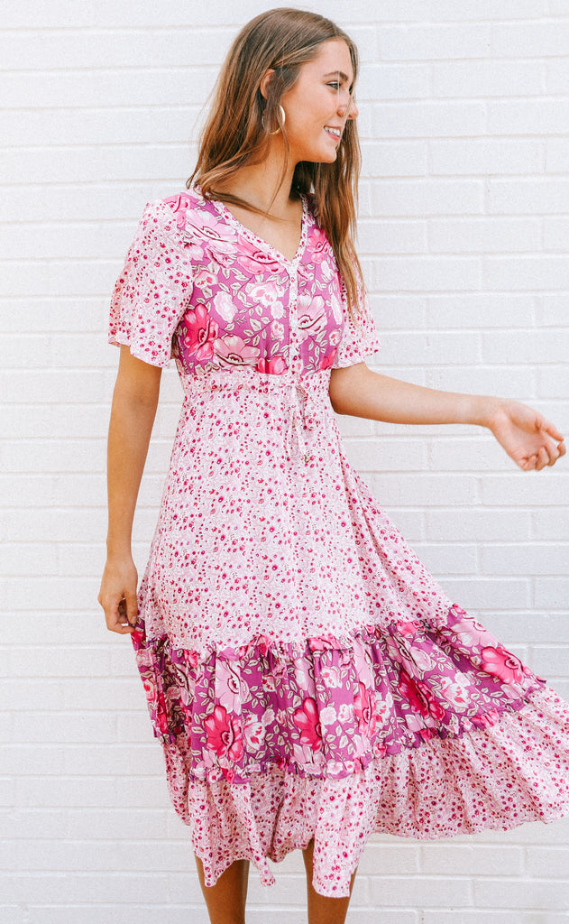good find printed dress