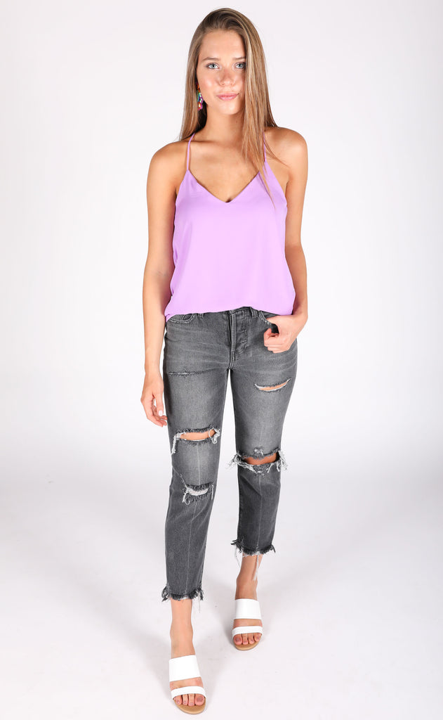 good impression slip top - lavender