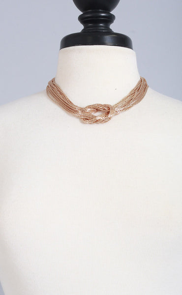 gwen knot necklace