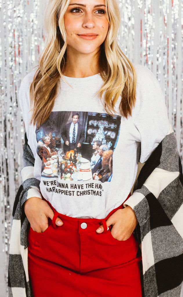 charlie southern: happiest christmas t shirt