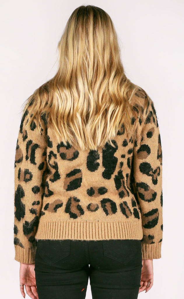 hear me roar knit sweater