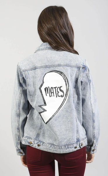 heart's desire denim jacket - mates