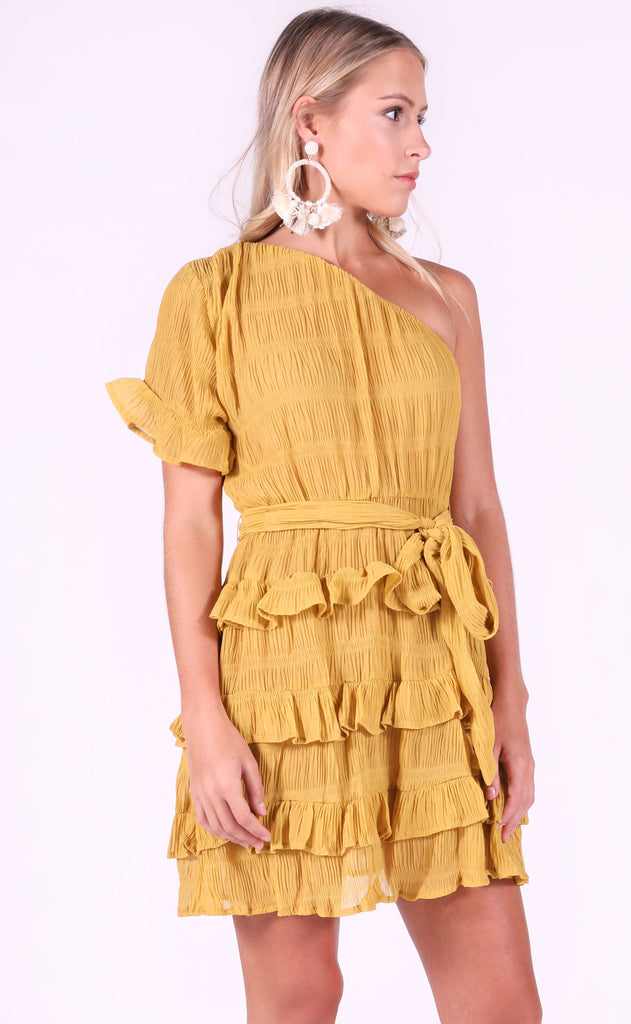 hello sunshine tiered dress