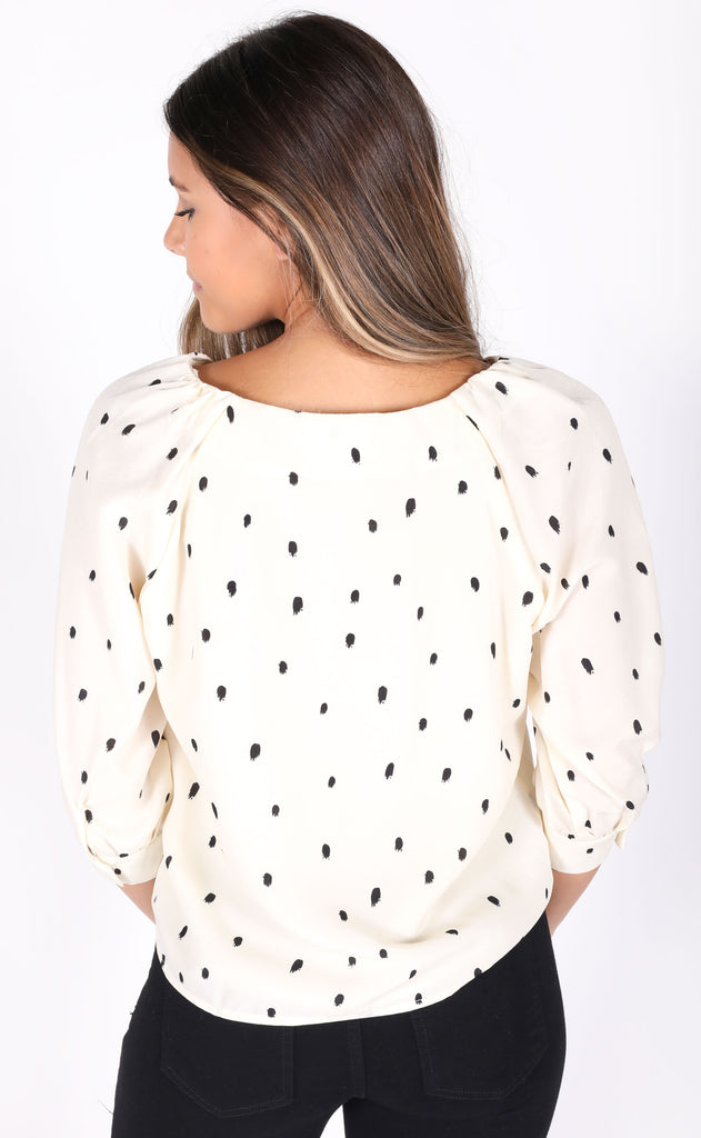 hit the spot printed top