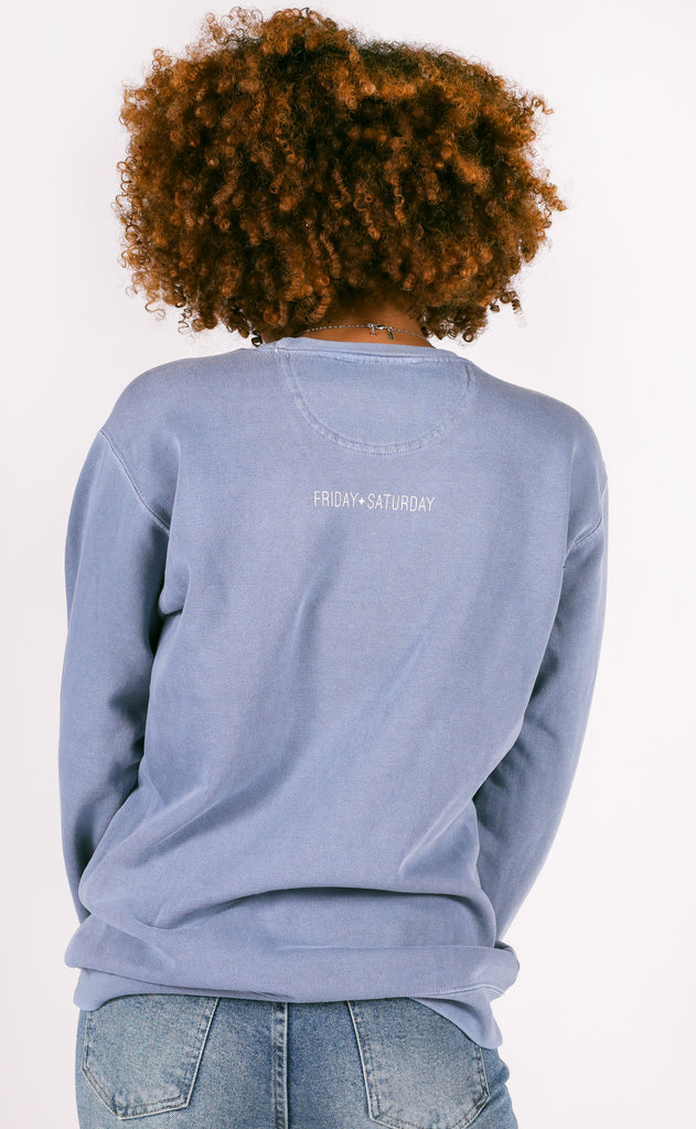 friday + saturday: homebody because sweatshirt
