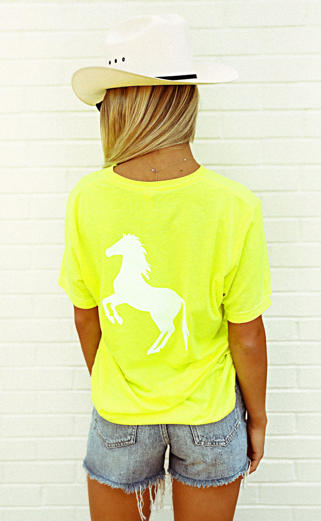 charlie southern: horses in the back t shirt