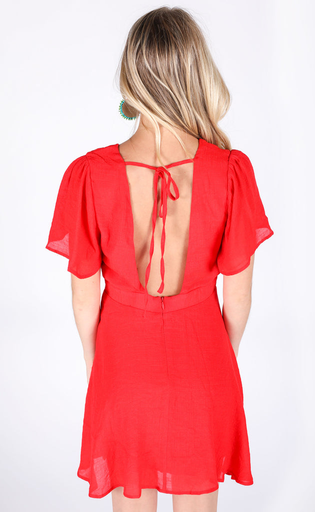 hot stuff swing dress