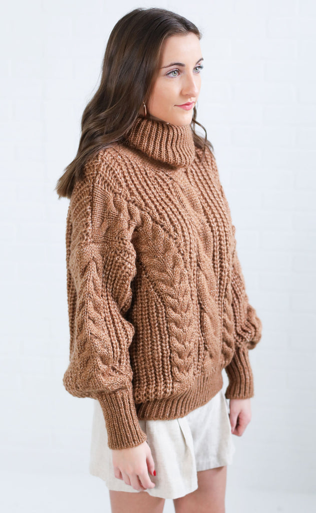 hot chocolate knit sweater
