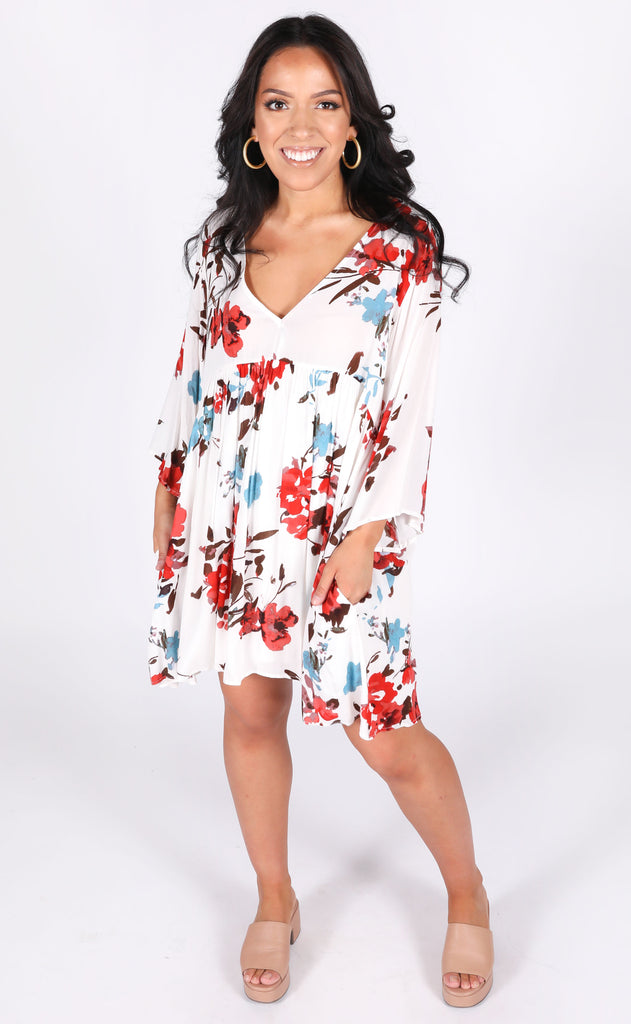 how sweet it is floral dress