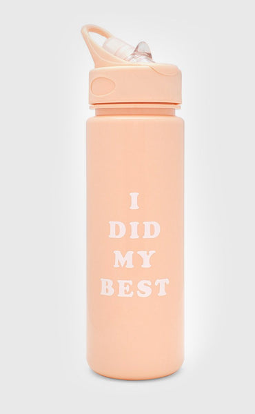 ban.do: work it out bottle - i did my best